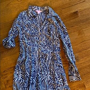Lilly Pulitzer XS Cover up or Dress
